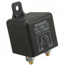 Interrupteur Charge fendue 100Amp 4 broches robuste ON OFF relais universel pour DC 12V Auto voiture Van bateau