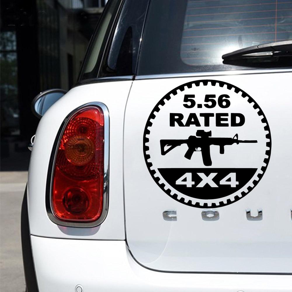 Мультяшные 4x4 автомобильные наклейки, забавные наклейки, украшения для автомобиля и окна, виниловые наклейки, аксессуары для мотоциклов 2 шт виниловые наклейки на окна для автомобиля