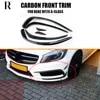 Ailerons pour pare-chocs avant de sport en fibre de carbone accessoire pour voiture Mercedes Benz W176 A180 A200 A260 A45 AMG W176 13-15