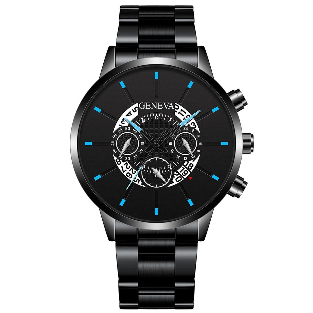 New Brand Men Watches Luxury Casual Watch Quartz Stainless Steel Waterproof Calendar Sports Clock Watches Business Reloj