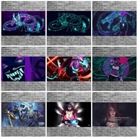 league of legends game picture 5d diy diamond painting squareround full drill mosaic cross stitch kit artist home decoration