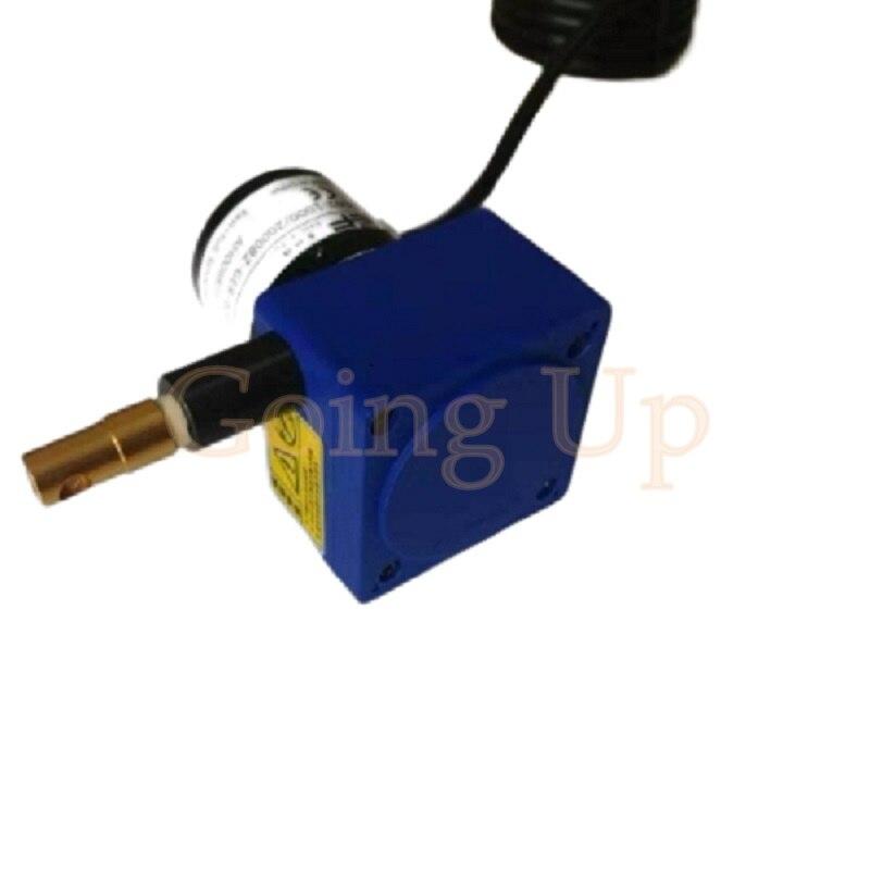 Desplazamiento del cable de tracción cuerda de tirar sensor de tirar cable cuerda de tirar codificador regla electrónica tipo básico (<1000mm trazo)