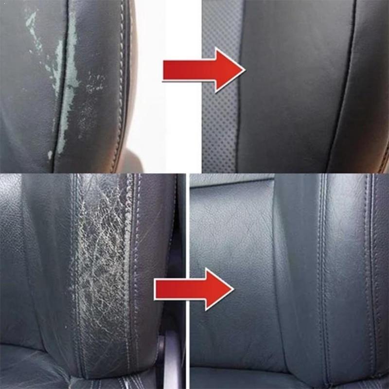 Leather Repair Gel Colorful Car Repair Scratches Cracks Car Seat Leather Complementary Refurbishing Cream Repair Leather Cleaner