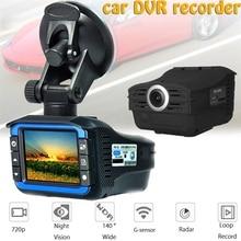 2 w 1 Hd kamera samochodowa Radar prędkościomierz wideorejestrator do jazdy samochodem Hd prędkość maszyna pomiarowa