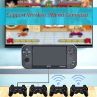 coolbaby new retro handheld game console arcade game player support 2 4g wireless gamepad hd output video game kids gift