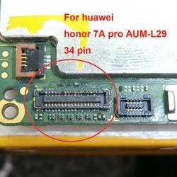 2 7A pçs/lote FPC conector Para Huawei honra pro AUM-L29 na placa mãe 34pin