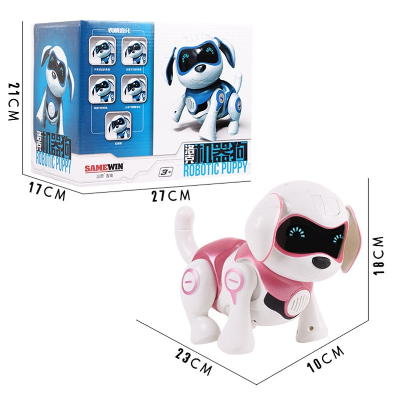 New RC Dog Robot Toys Puppy Intelligent Remote Control Interactive Smart Robot Dog Pets Electronic Toys Smart Robot For Kids enlarge