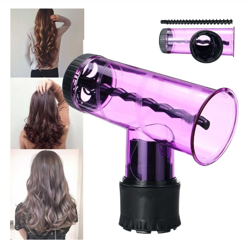 Hair Diffuser Salon Magic Hair Roller Drying Cap Blow Dryer Wind Curl Hair Dryer Cover Roller Curler Diffuser Hair Styling Tools