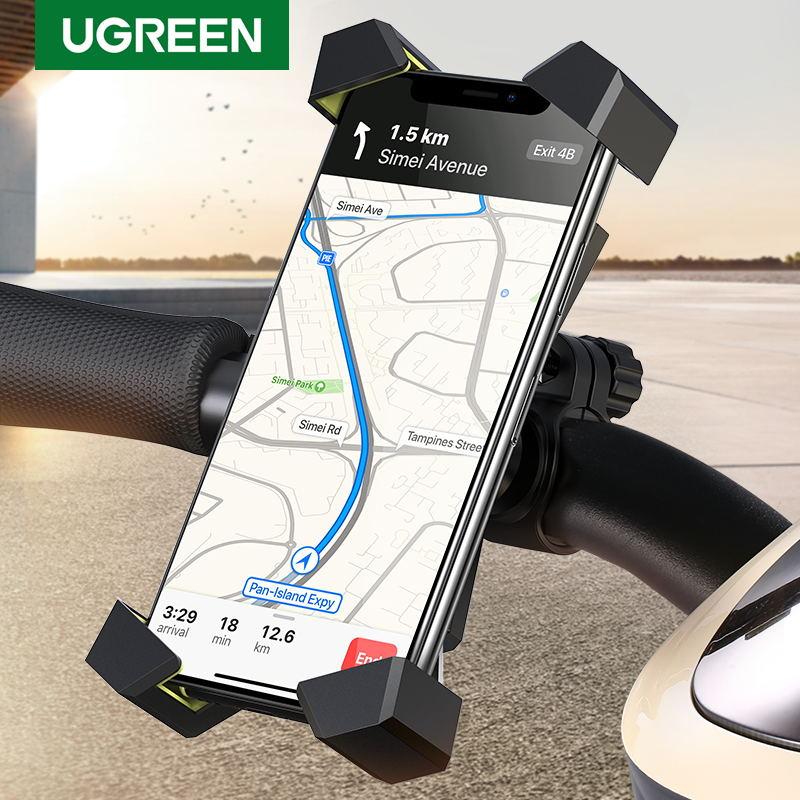 Велосипедный держатель для телефона Ugreen, для iPhone X S 8