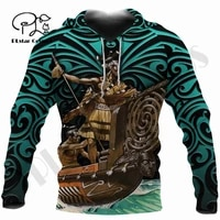 plstar cosmos 3dprint newest maori aotearoa new zealand art unique harajuku pullover streetwear unisex hoodiessweatshirtzip 3