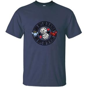 Дизайн Bad Boys Go To Las Vegas Мужская Футболка Harajuku Мужская футболка размера плюс S-5xl натуральный хип-хоп