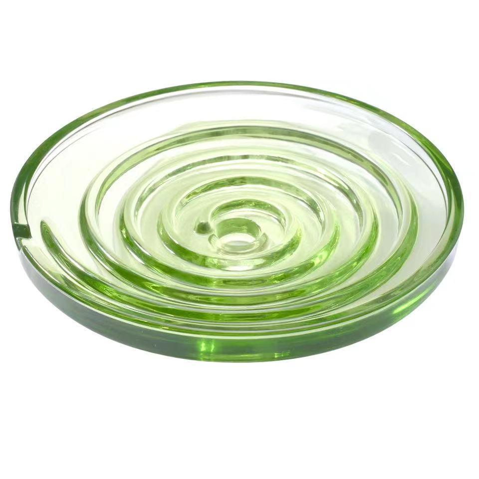 7500cc Newest biovortex ,Bioglass spiral shape,the highest energy bioglass diameter 15.5cm