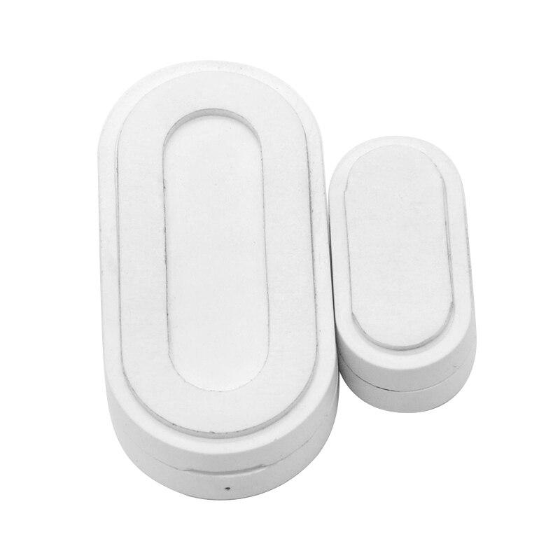 Датчик для окон и дверей Tuya ZigBee, умный датчик для окон и дверей, умный детектор для окон и дверей, умное управление через приложение