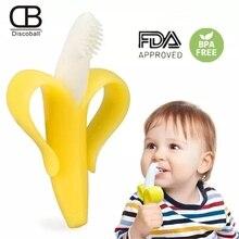 Brosse à dents à doigts en Silicone   Mignon avec boîte, dents pour enfants, Massage transparent, brosse de nettoyage en caoutchouc pour nourrissons, ensemble de soins pour garçons