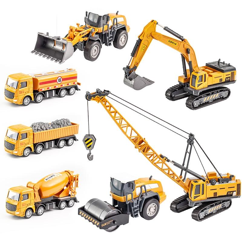 KIDAMI City Engineering Vehicle Bulldozer Crane Technic Car Truck  Building Machine Construction Vehicle Toys for Boys Gifts недорого