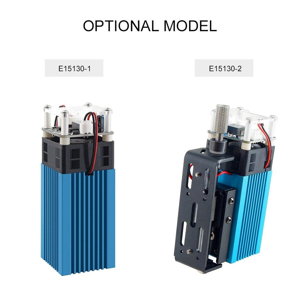 Лазерный Модуль LD + FAC, 40 Вт, 5,5 Вт, 450 нм, Непрерывный лазер, Высокоточный гравер с фокусировочным блоком, модуль для принтера