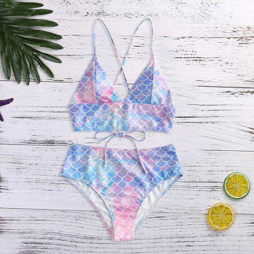 Las mujeres Sexy Bikini Traje De Baño De encaje Impresión De Baño De dos piezas ropa De playa, Traje De Baño Para playa Traje De Baño Sexy Para Mujer #40