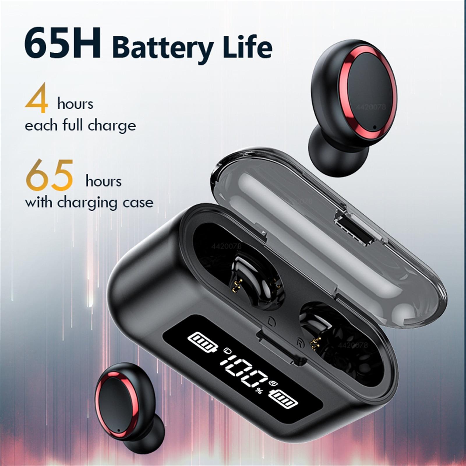 F9-281 sem fio mini fone de ouvido para apple xiaomi bluetooth 5.0 esporte caixa carregamento portátil fone para samsung huawei