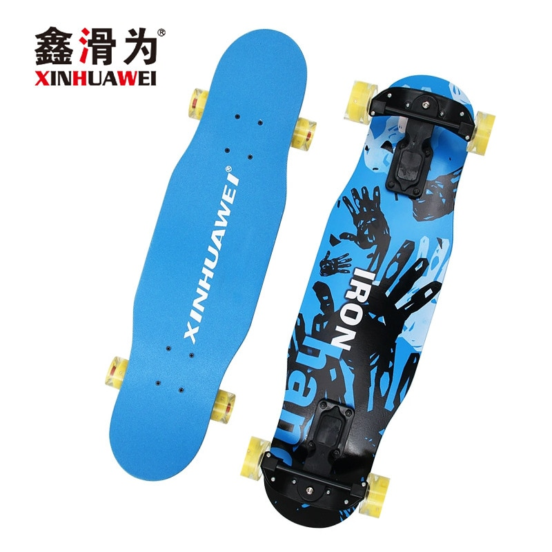 Action 4 Wheel  Skateboard Fashion Off Road Drift Skateboard Long Board Scooter Freestyle Rullebrett Entertainment BY50HB