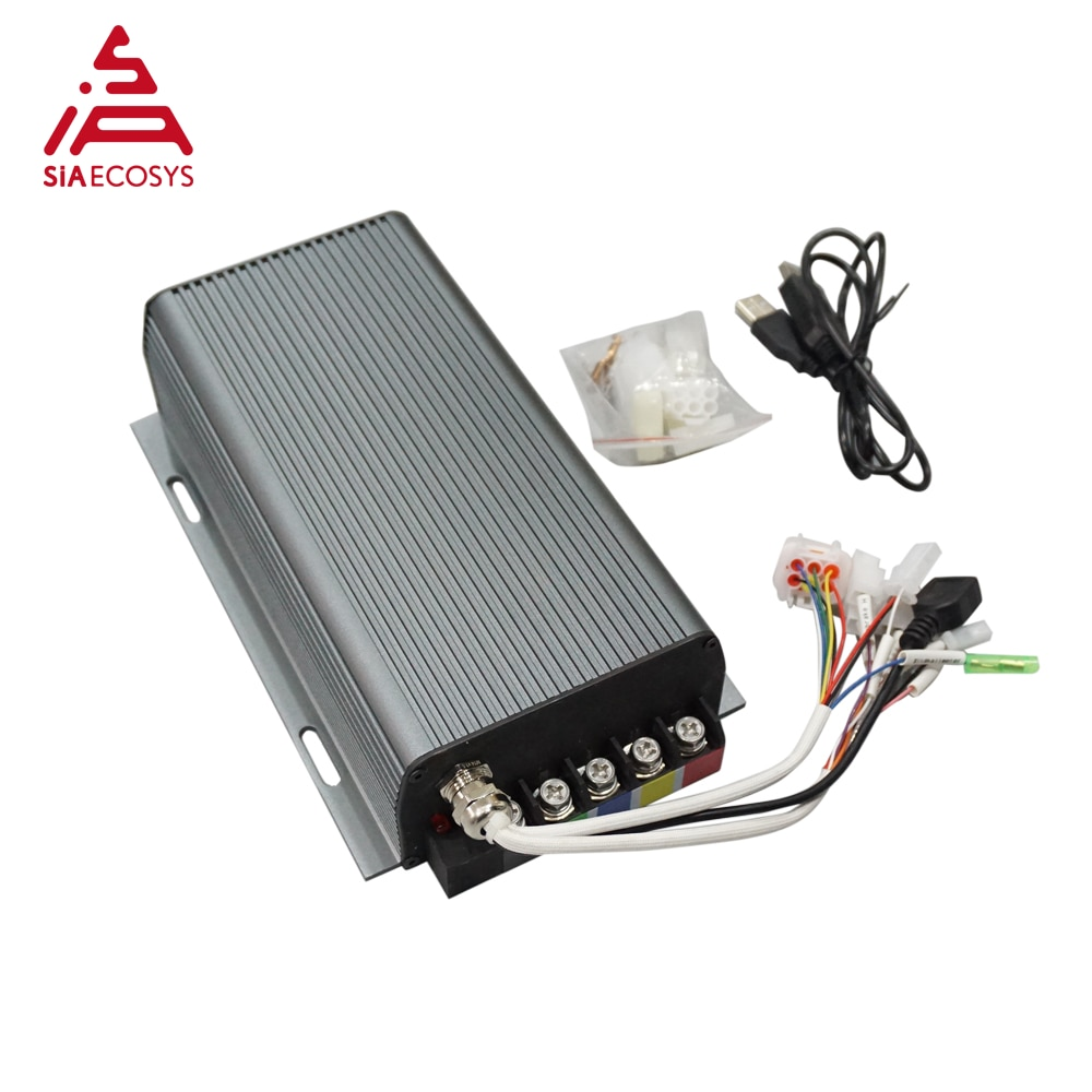 Global free shipping MQ Sabvoton Controller SVMC72150 72V 150A could match BLDC electric hub motor including bluetooth adapter enlarge