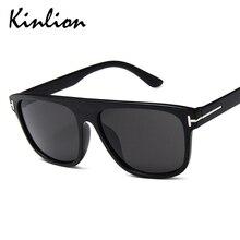 Kinlion Square Oversized Women Sunglasses Retro Vintage Big Frame Sunglass Men Classic Rectangle Lad