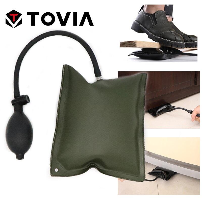 Tovia リフティングエアクッションホバーパレットドアと窓エアバッグロケータ調整空気調節可能なエアクッション補助手段