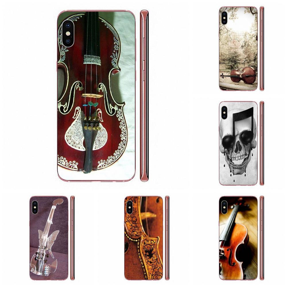 Per Samsung Galaxy Note 10 pro Plus Lite 9 8 5 4 3 M60s M40 M30 M30S M20 M10 M10S custodia protettiva in Silicone violino vivido e musicale