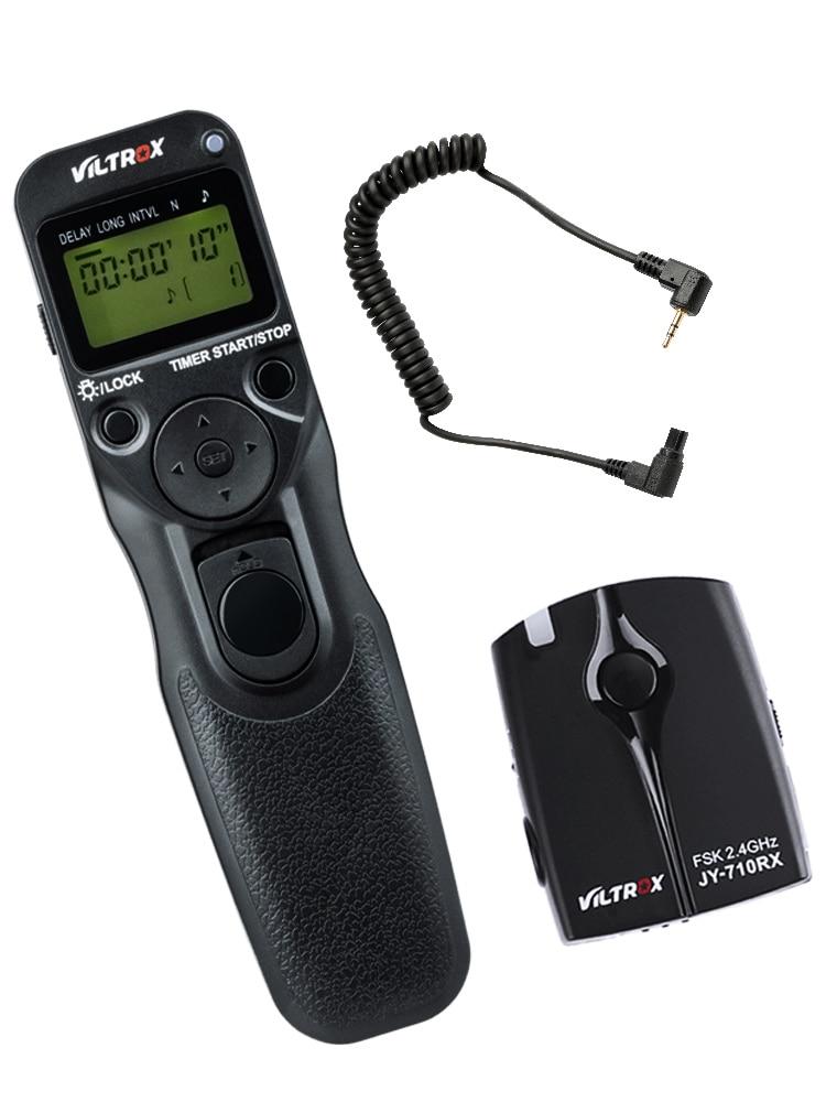 Беспроводная камера Viltrox JY-710-C3 с ЖК-таймером и дистанционным управлением, спуска затвора для Canon 30D 40D 50D 7D 7DII 6DII 5D Mark IV 5diii