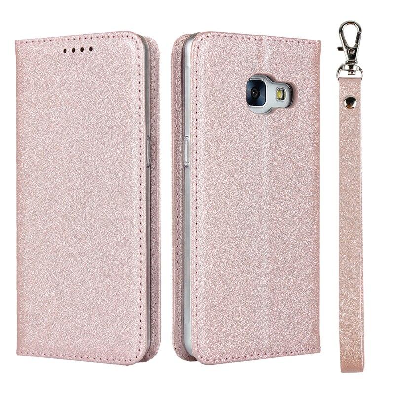 Patrón de seda de cuero de la PU funda para Samsung Galaxy SC-04J billetera con soporte con tapa cubierta de tarjeta bolsillos cordón casos