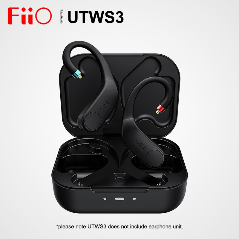 مضخم صوت FiiO UTWS3 TWS + True لاسلكي Bluetooth5.0 أمبير مع شريحة كوالكوم QCC3020 MMCX 0.78 مللي متر aptX دعم بلا فقدان SBC AAC