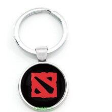 Game Dota 2 LOGO Keychain Keyring Figure Hero Symbol Key Chain Key Ring Pendant Car Styling Decor Gift for Player XMAS Gifts
