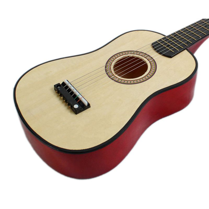 1pcs 23 Inch Guitar Mini Guitar Basswood with Plectrum String & 1pcs 23 Inch Black Uke Bag Portable Ukulele Gig Bag enlarge