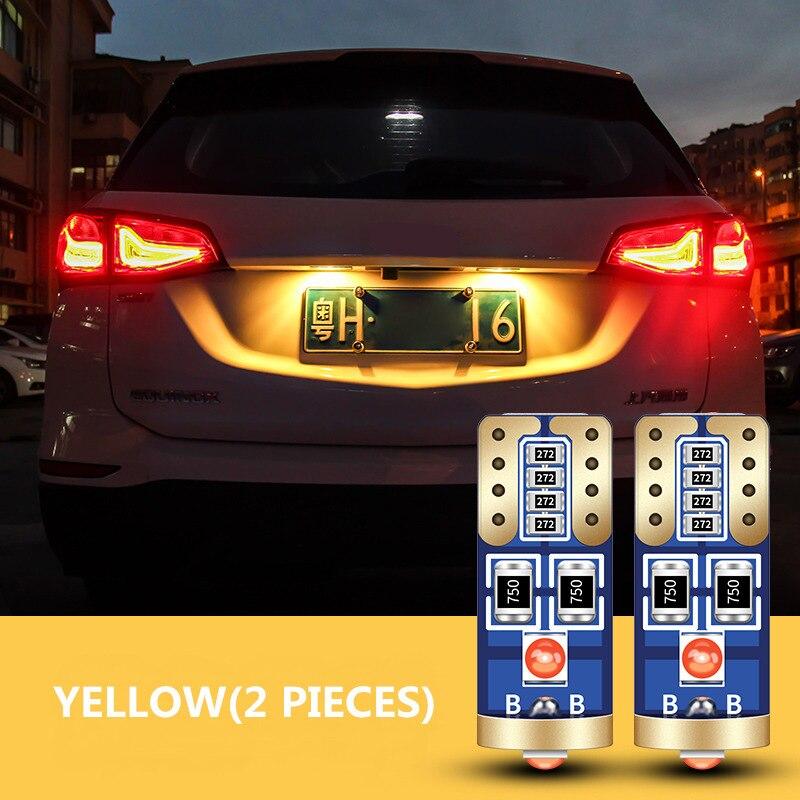 Car Clearance LED Light Canbus T10 W5W Lamp For Lada Granta Samara 2110 Largus 2109 2107 2106 4X4 Vaz Kalina 2 Priora Niva