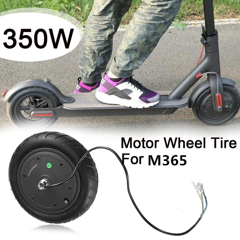 350W Electric Scooter Motor Explosion Proof Wheels Tire for M365 Electric Scooter Replacement Parts