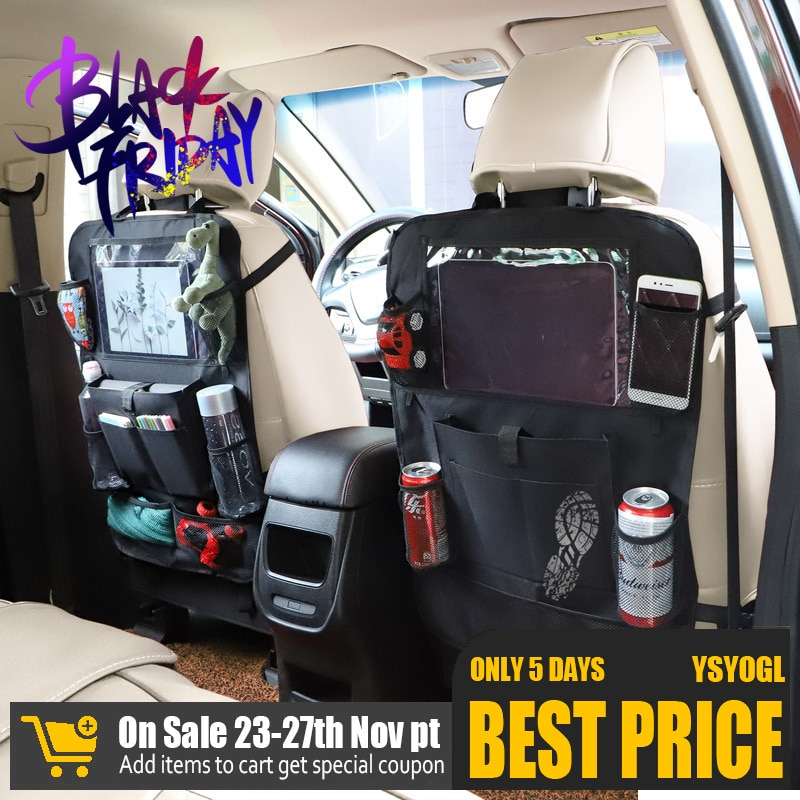 Automobile Accept Bag Vehicle Car Back Pouch Function Arrangement Bag Automobile Articles