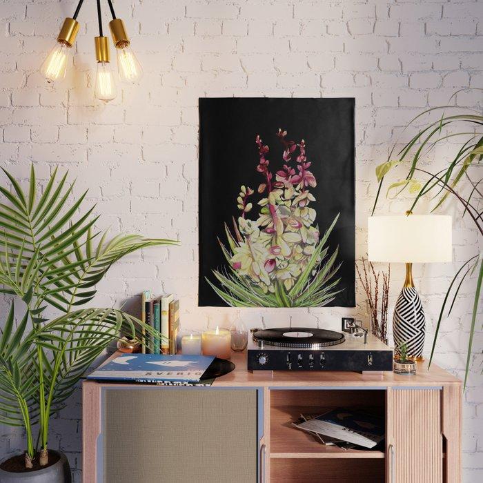 Cartel impreso en lienzo para decoración del hogar, pintura de flores Yucca,...