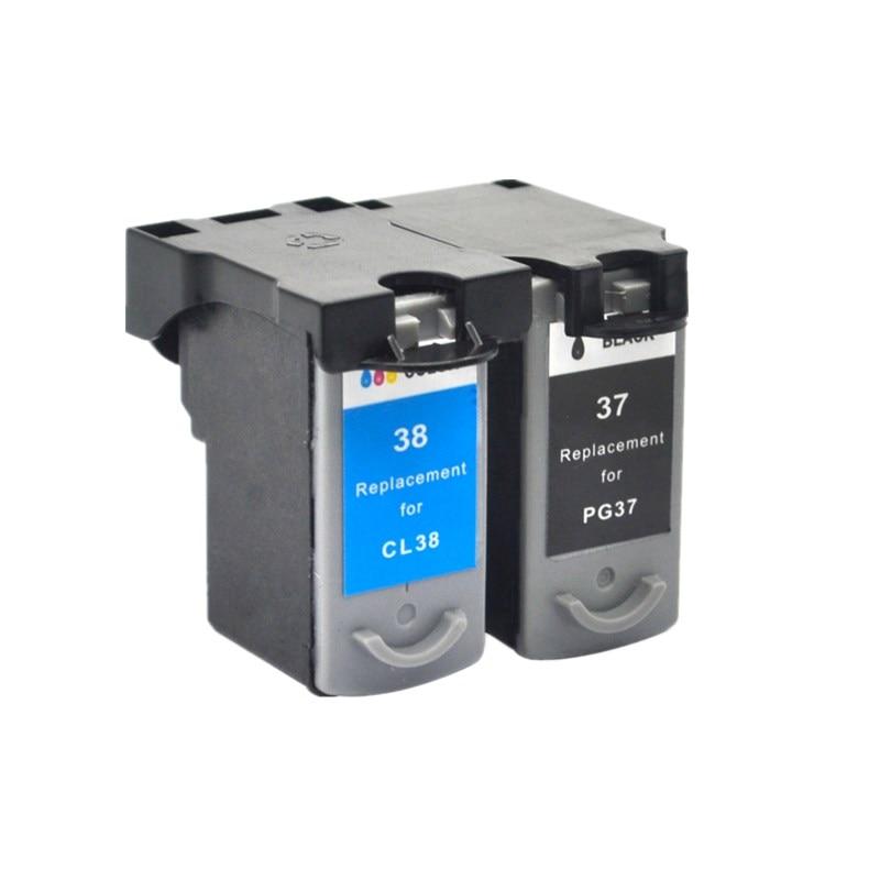 Cartuchos de tinta cartucho para PG-37 PG 37 PG37 Pixma MP210 MX300 MX310 MP190 mini260 MP470 MP220 impresora de inyección de tinta
