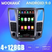 for lexus rx300 rx330 rx350 rx400h 2004 2007 car radio screen gps navigation 128gb android carplay multimedia player audio