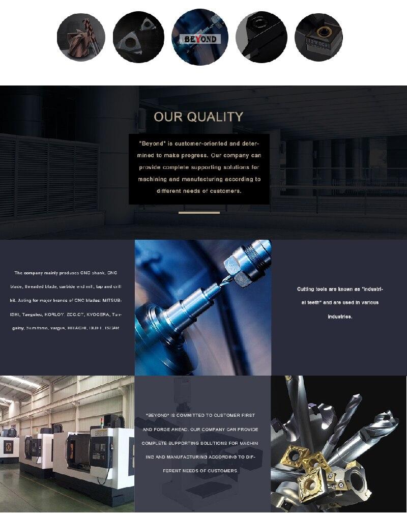 Cortador De Torno CNC para o Aço M K 10 pçs caixa