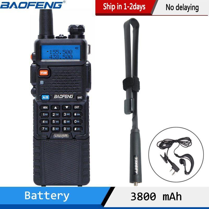 Baofeng UV-5R 3800 Walkie Talkie 5Watt Dual Band UHF 400-520MHz VHF 136-174MHz Zwei weg Radio uv82 uv-82 UV5R tragbare CB Radio