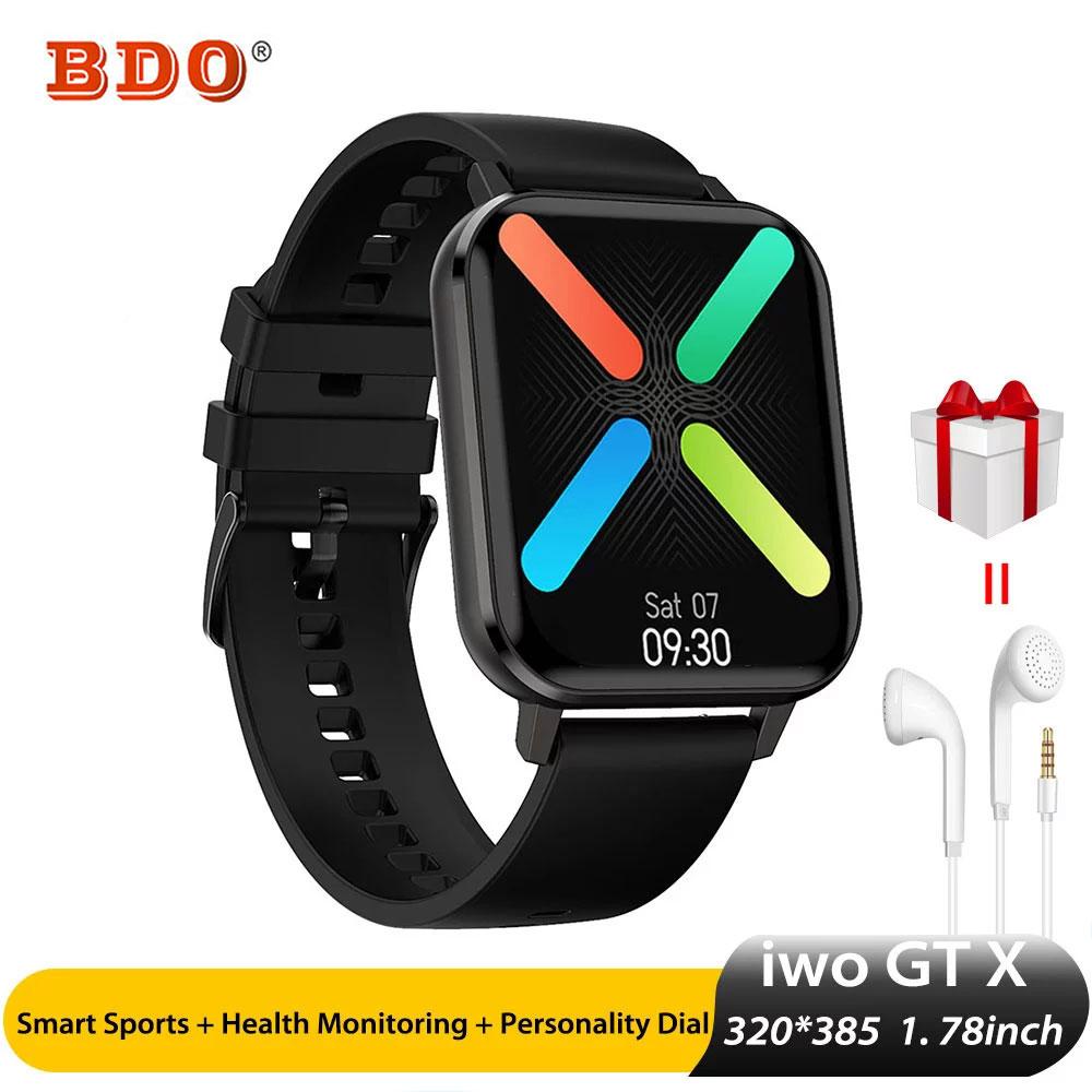 DTX Smartwatch ل أندرويد و iOS الهاتف 1.78