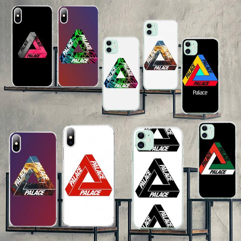 HPCHCJHM De Palacio patinetas estuche para teléfono suave para iPhone 11 pro XS MAX 8 7 6 6S Plus X 5S SE XR cubierta