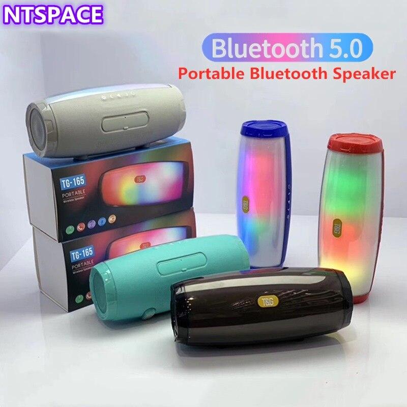 Altavoz portátil Bluetooth inalámbrico altavoz sonido System3D de música estéreo envolvente altavoz al aire libre compatibilidad con FM TF tarjeta Bass caja