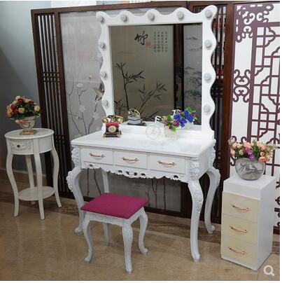 Современный туалетный столик, экономичный туалетный шкаф, простой туалетный столик