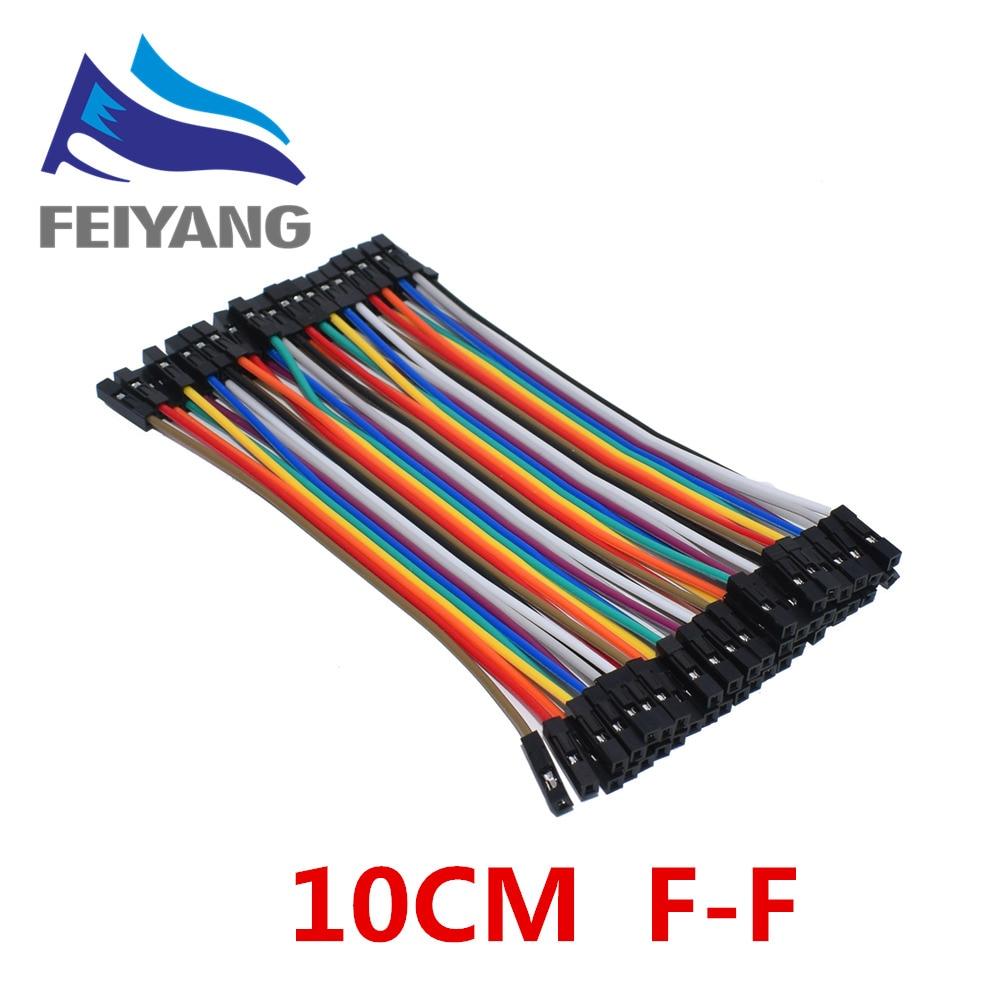 Cable Dupont de 10 cm/20 CM/30 CM macho a macho + hembra a hembra Cable Dupont para KIT arduino DIY