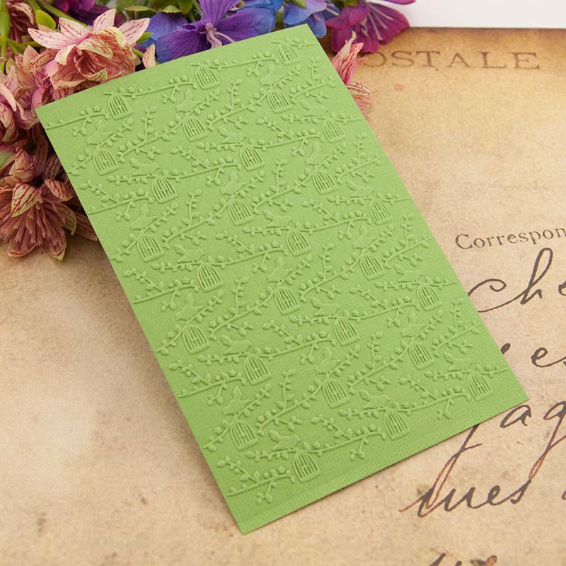 Easter plastic birdcage template craft card making paper card album wedding decoration Embossing folders