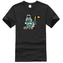 California Golden Seals Mascot Sparky Wha T Shirt - White Cartoon t shirt men Unisex New Fashion tshirt free shipping top ajax