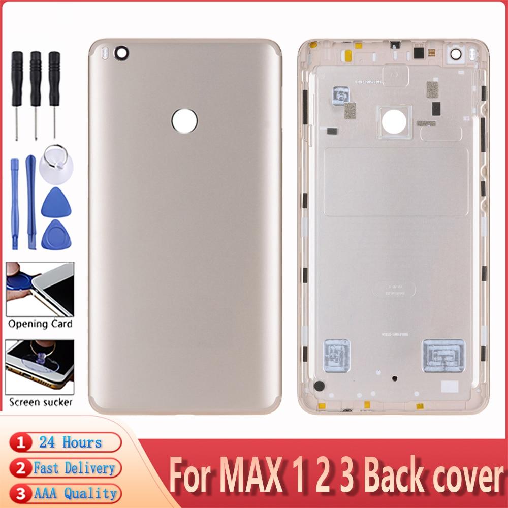 Xiao mi Mi MAX 1 2 3 후면 배터리 커버 Xiao mi Mi MAX 1 2 3 배터리 커버 및 렌즈 교체 부품 용 후면 하우징 홀더