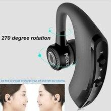 Универсальная спортивная Гарнитура Bluetooth 4,1 V9, беспроводные наушники вкладыши с микрофоном Наушники и гарнитуры      АлиЭкспресс