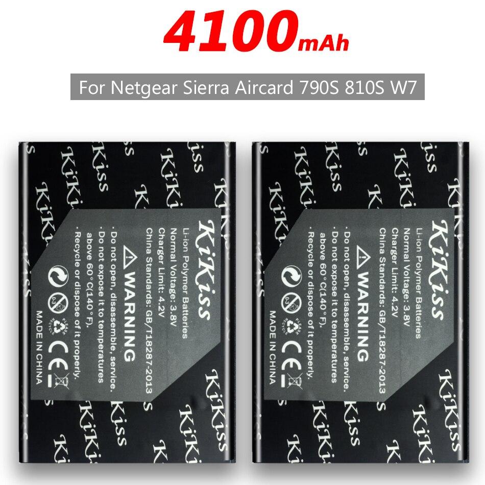 4100mAh para Netgear Sierra Aircard 790S 810S W7 W-7 batería de teléfono móvil + número de seguimiento